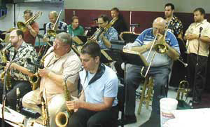 The Brian Pastor Big Band at the Casino Deli - Aug. 19 2003